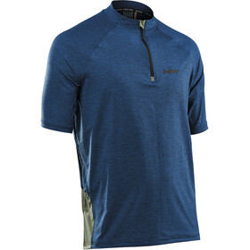 Northwave Trail MTB Maillot manches courtes Homme, darkblue/green